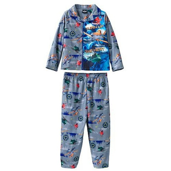 Planes Size 2T Disney Long Pajamas Set Toddler